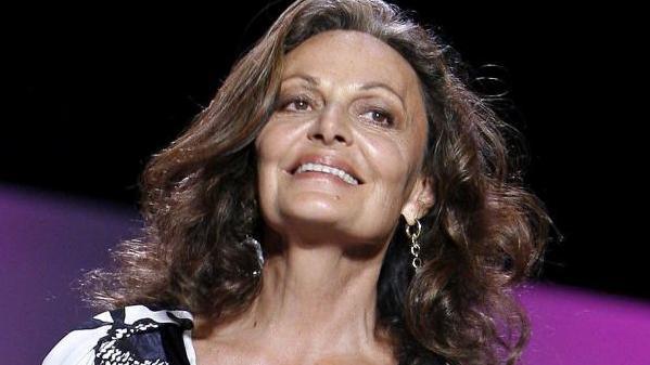 Designerin Diane von Fürstenberg ist auch über 70 noch eine attraktive Frau.