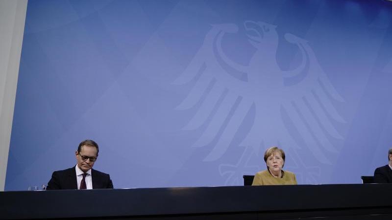 Unklarheit über Absage des Bund-Länder-Treffens zu Corona