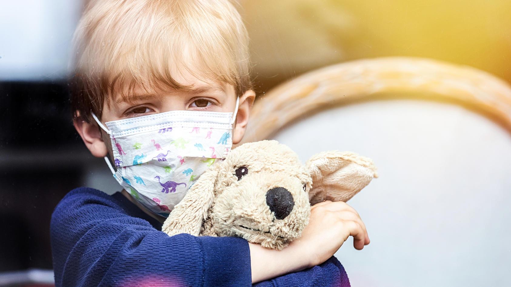 Die Coronakrise führt bei Kindern zunehmend zu psychischen Störungen (Symbolbild).
