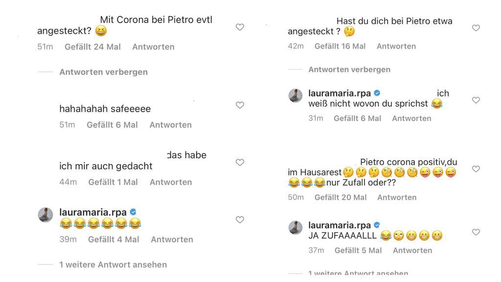 Laura Maria reagiert auf die Spekulationen ihrer Follower