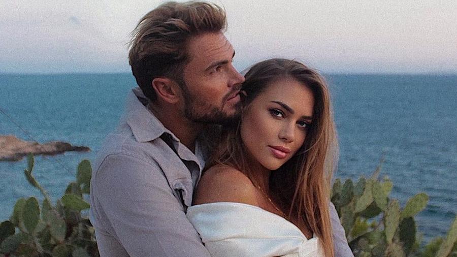 Johannes Haller macht Jessica Paszka eine romantische Liebeserklärung bei Instagram.