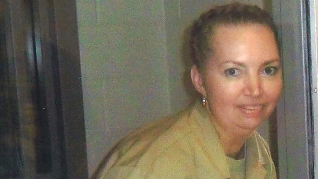 FILE PHOTO: Lisa Montgomery, a federal prison inmate scheduled for execution. Pictured at the Federal Medical Center (FMC) Fort Worth in an undated photograph.   Courtesy of Attorneys for Lisa Montgomery/Handout via REUTERS./File Photo
