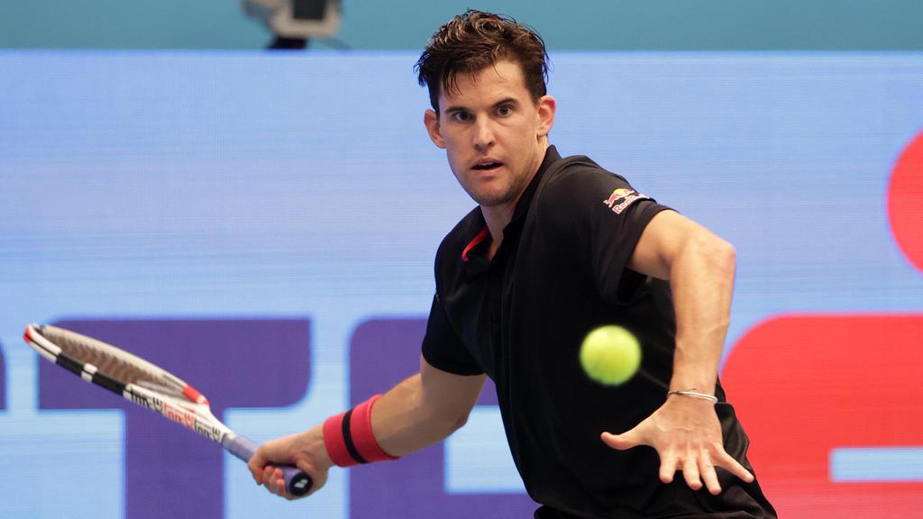 TENNIS - ATP, Tennis Herren Erste Bank Open VIENNA,AUSTRIA,29.OCT.20 - TENNIS - ATP World Tour, Erste Bank Open. Image shows Dominic Thiem AUT. PUBLICATIONxINxGERxHUNxONLY GEPAxpictures/xWalterxLuger