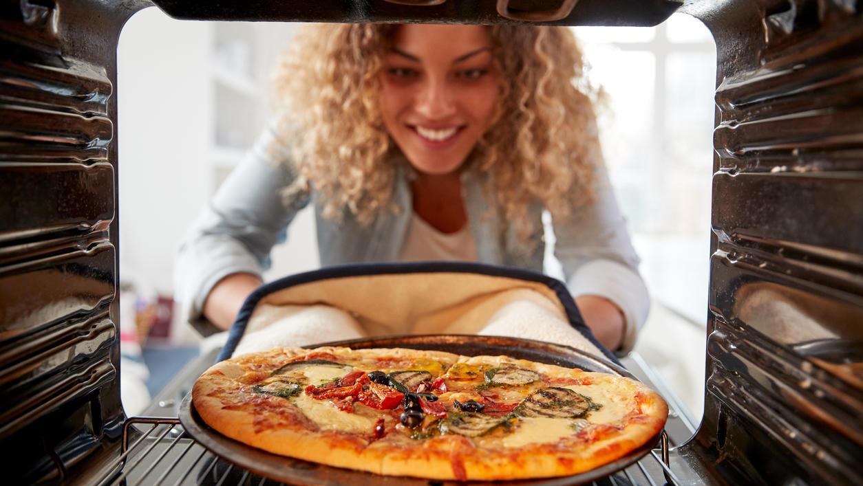 Super praktisch, wenn man sie denn kennt, die Pizzafunktion.