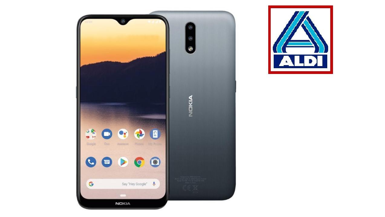 Angebot bei Aldi: das Nokia 2.3 für 100 Euro.