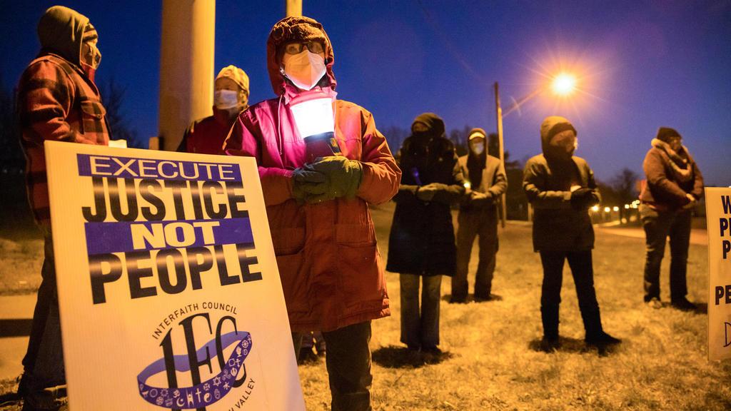 Proteste gegen Hinrichtung von Lisa Montgomery