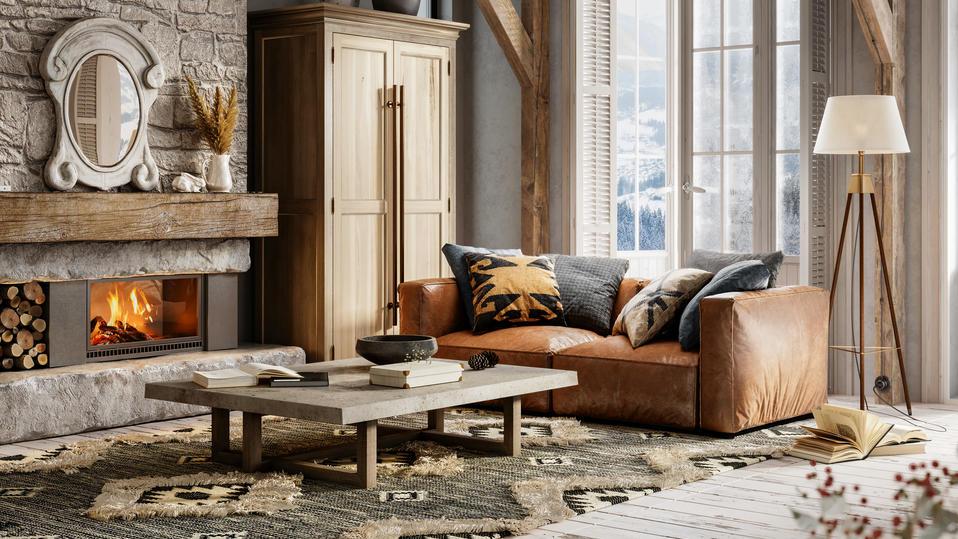 Wer der Umwelt etwas Gutes tun will, setzt bei Möbeln und Dekoration auf Holz und Stein.