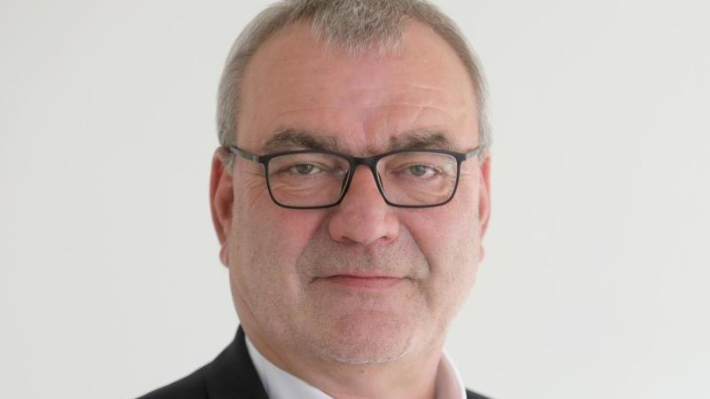 Dietmar Muscheid, DGB-Landesvorsitzender von Rheinland-Pfalz. Foto: Lukas Görlach/dpa/Archivbild