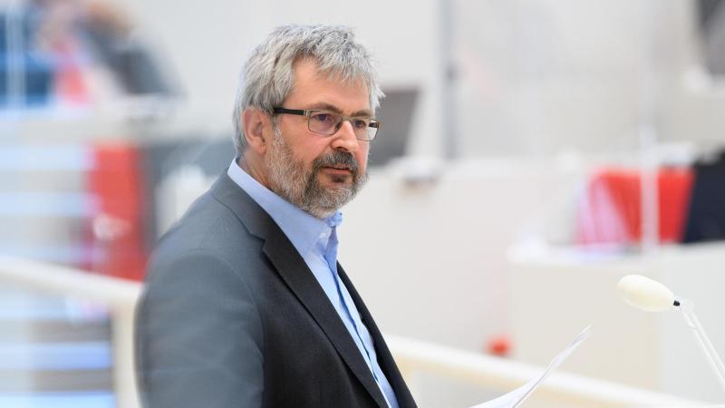 Axel Vogel (Bündnis 90/Die Grünen), Brandenburger Minister für Umwelt. Foto: Soeren Stache/dpa-Zentralbild/ZB