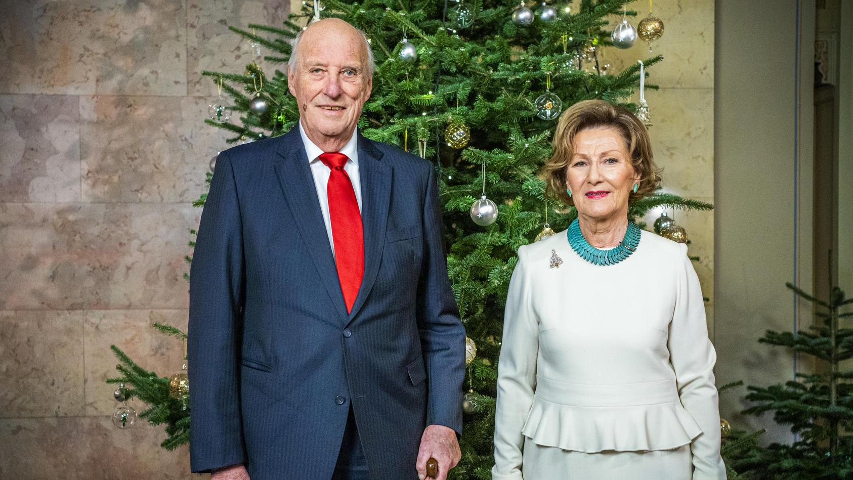 Weihnachtsbilder der norwegischen Königsfamilie
