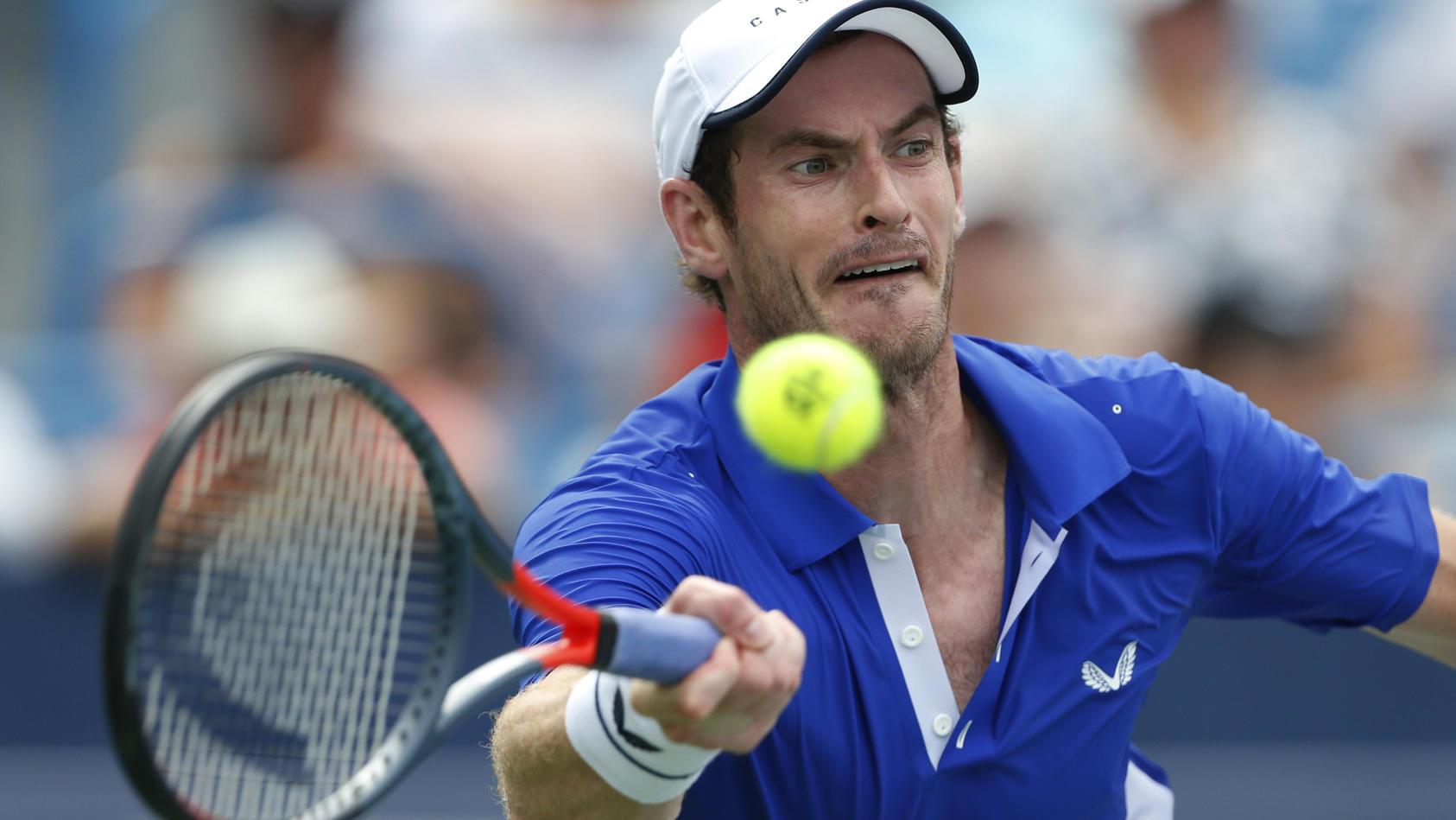 Andy Murray hofft auf eine schnelle Genesung