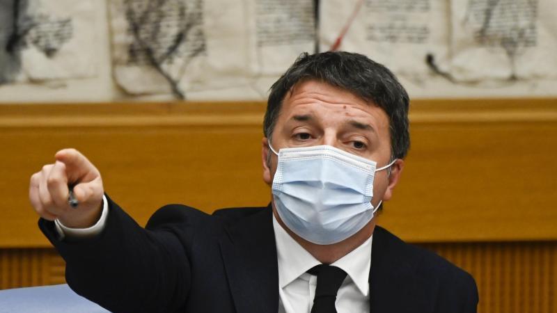 Matteo Renzi hatte mit seiner Splitterpartei Italia Viva am Mittwoch die Mitte-Links-Koalition platzen lassen. Foto: Alberto Pizzoli/POOL AFP/dpa