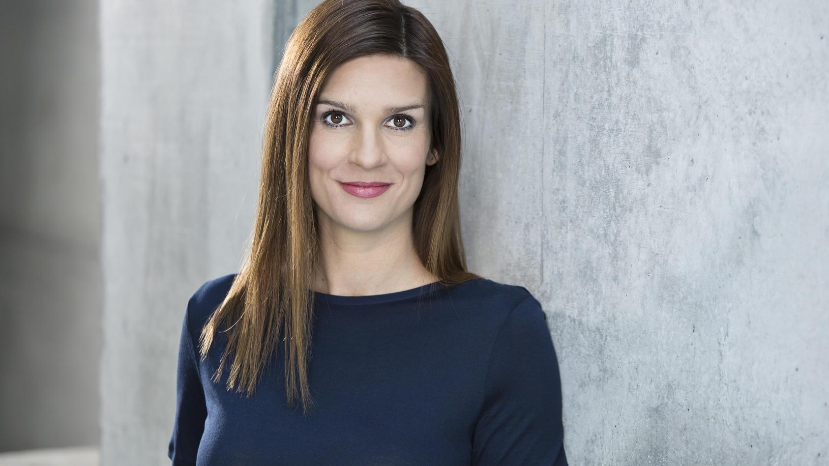 Unsere Modereatorin: Tina Mattick