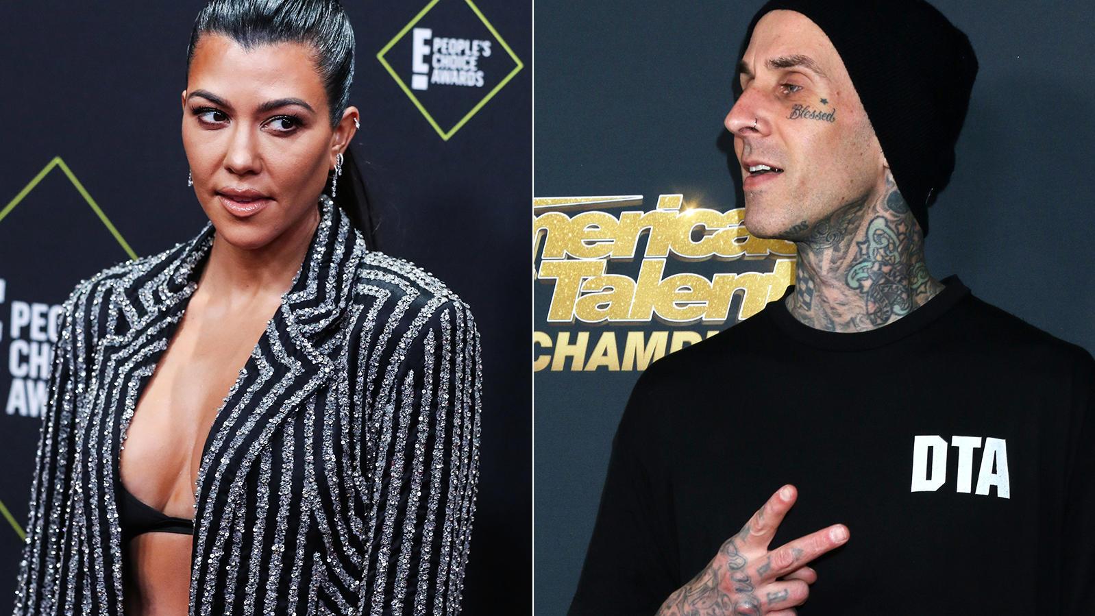 Kourtney Kardashian und Travis Barker sind seit einigen Monaten ein Paar - und zeigen das auch gerne.