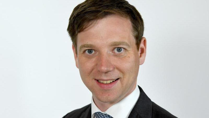 Tobias von der Heide (CDU), Abgeordneter im Landtag von Schleswig-Holstein. Foto: Carsten Rehder/dpa/Archivbild