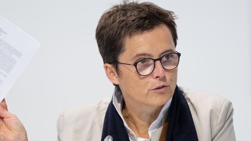 Anke Pörksen, Regierungssprecherin der niedersächsischen Landesregierung. Foto: Peter Steffen/dpa/Archivbild