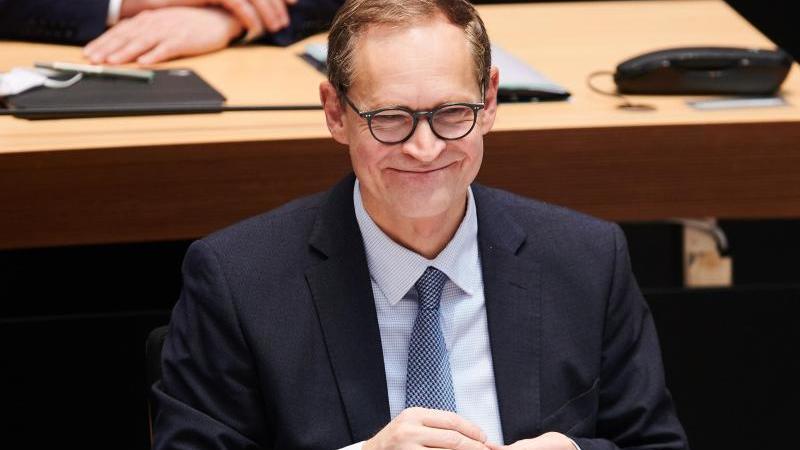 Michael Müller (SPD), Regierender Bürgermeister von Berlin. Foto: Annette Riedl/dpa/Archivbild