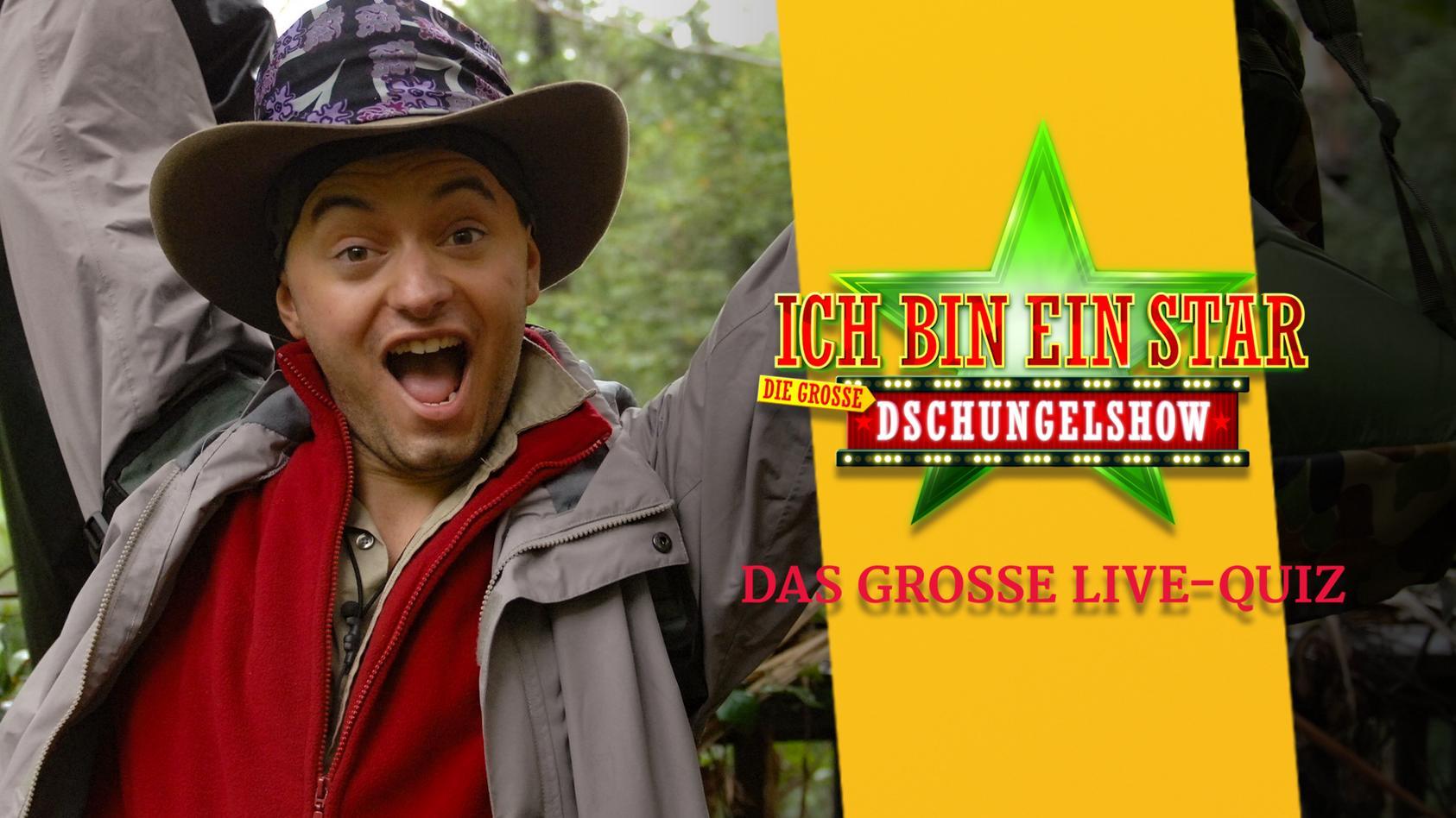 Julian F. M. Stoeckel ist nach jeder Dschungelshow unser Gast im Quiz-Livestream