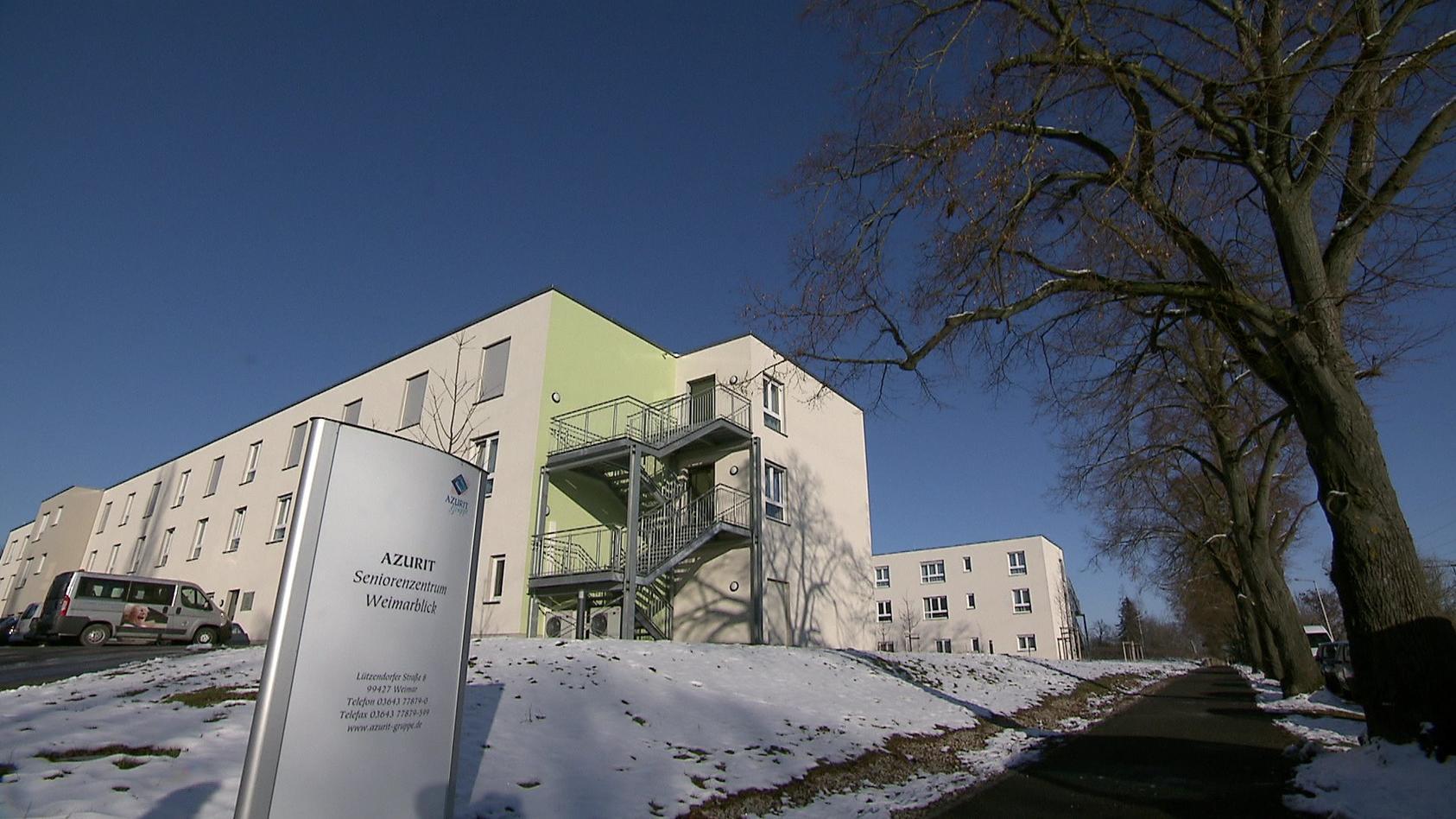 Im Weimarer Seniorenheim Weimarblick starben 23 Seniorinnen und Senioren.