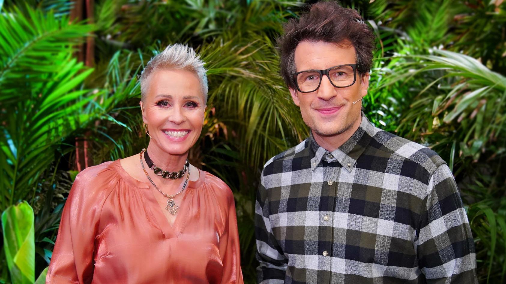 Sonja Zietlow und Daniel Hartwich sind bei der Dschungelshow 2021 als Moderatoren dabei.