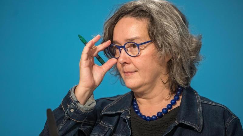 Heike Werner (Die Linke), Thüringer Ministerin für Arbeit, Soziales, Frauen und Familie. Foto: Michael Reichel/dpa-Zentralbild/dpa/Archivbild