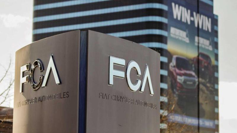 Blick auf das US-Hauptquartier von Fiat Chrysler Automobiles in Auburn Hills. Foto: Kimberly P. Mitchell, Detroit Fr/TNS via ZUMA Wire/dpa