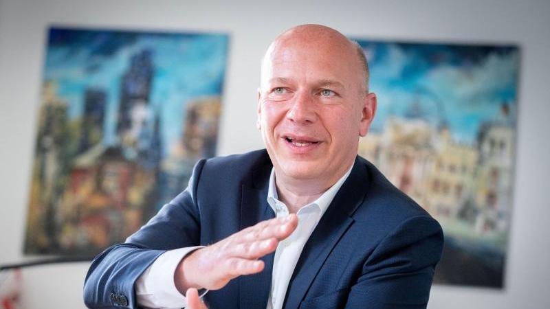 Der Landesvorsitzende der CDU-Berlin und Bundestagsabgeordnete, Kai Wegner. Foto: Kay Nietfeld/dpa/Archivbild