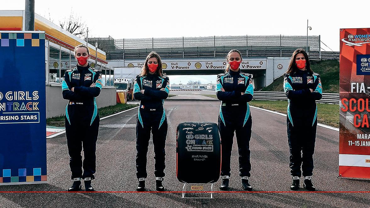Ferrari sucht eine Rennfahrerin