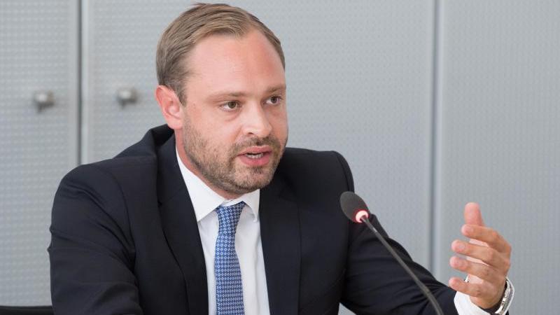 Alexander Dierks, CDU-Generalsekretär in Sachsen. Foto: Sebastian Kahnert/dpa-Zentralbild/dpa/Archivbild