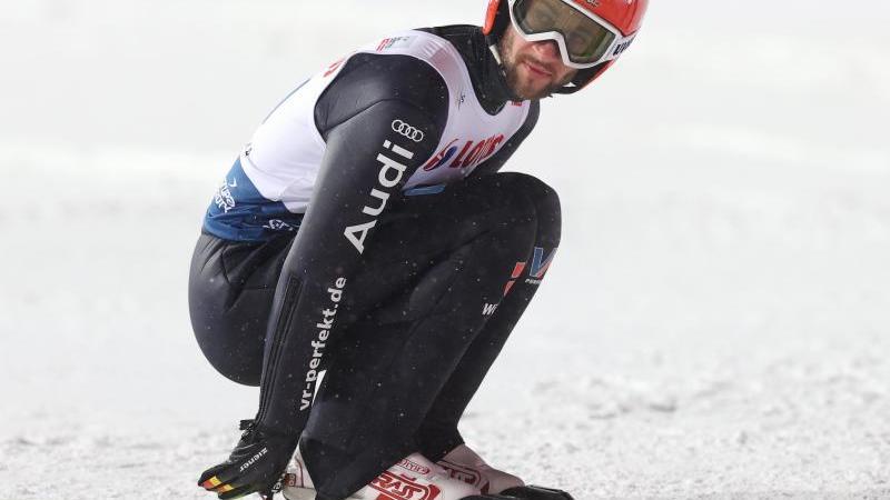 Markus Eisenbichler ist am heutigen Sonntag beim Weltcup im polnischen Zakopane im Einzel gefordert. Foto: Grzegorz Momot/PAP/dpa