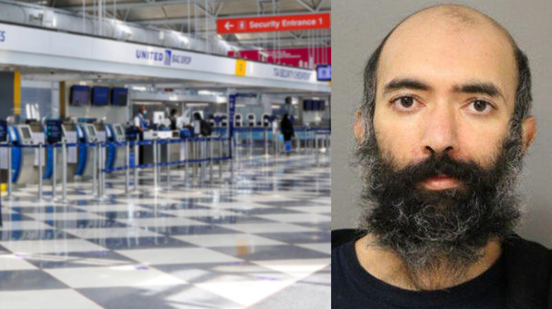 Aditya S. lebte drei Monate lang in einem Flughafen von Chicago - weil er wegen Corona zu viel Angst hatte, nach Hause zu fliegen, sagte er.