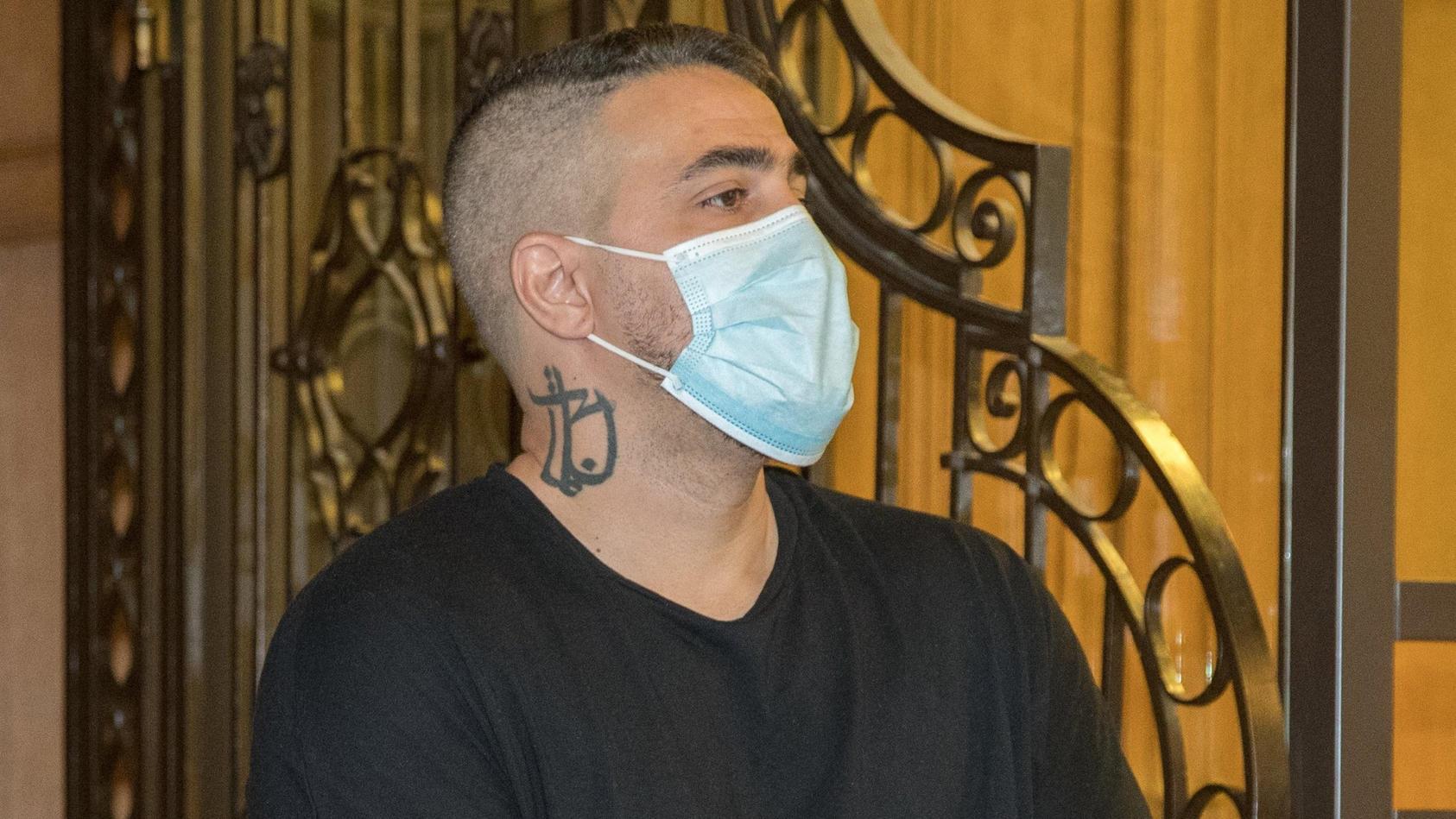Rapper Bushido musste vor Gericht den Ort malen, an dem er festgehalten worden war.