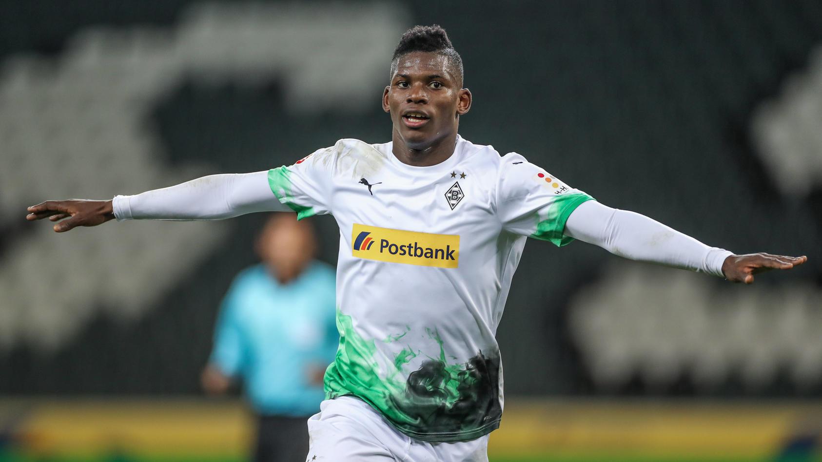 Breel Embolo spielt bei Borussia Mönchengladbach.