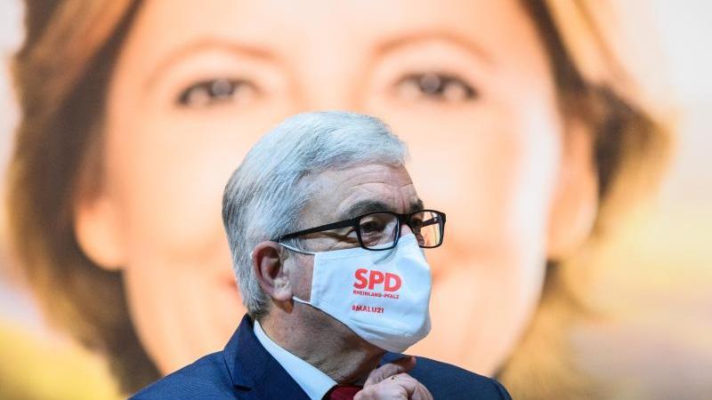 Roger Lewentz (SPD), Landesvorsitzender seiner Partei in Rheinland-Pfalz. Foto: Andreas Arnold/dpa/Archivbild