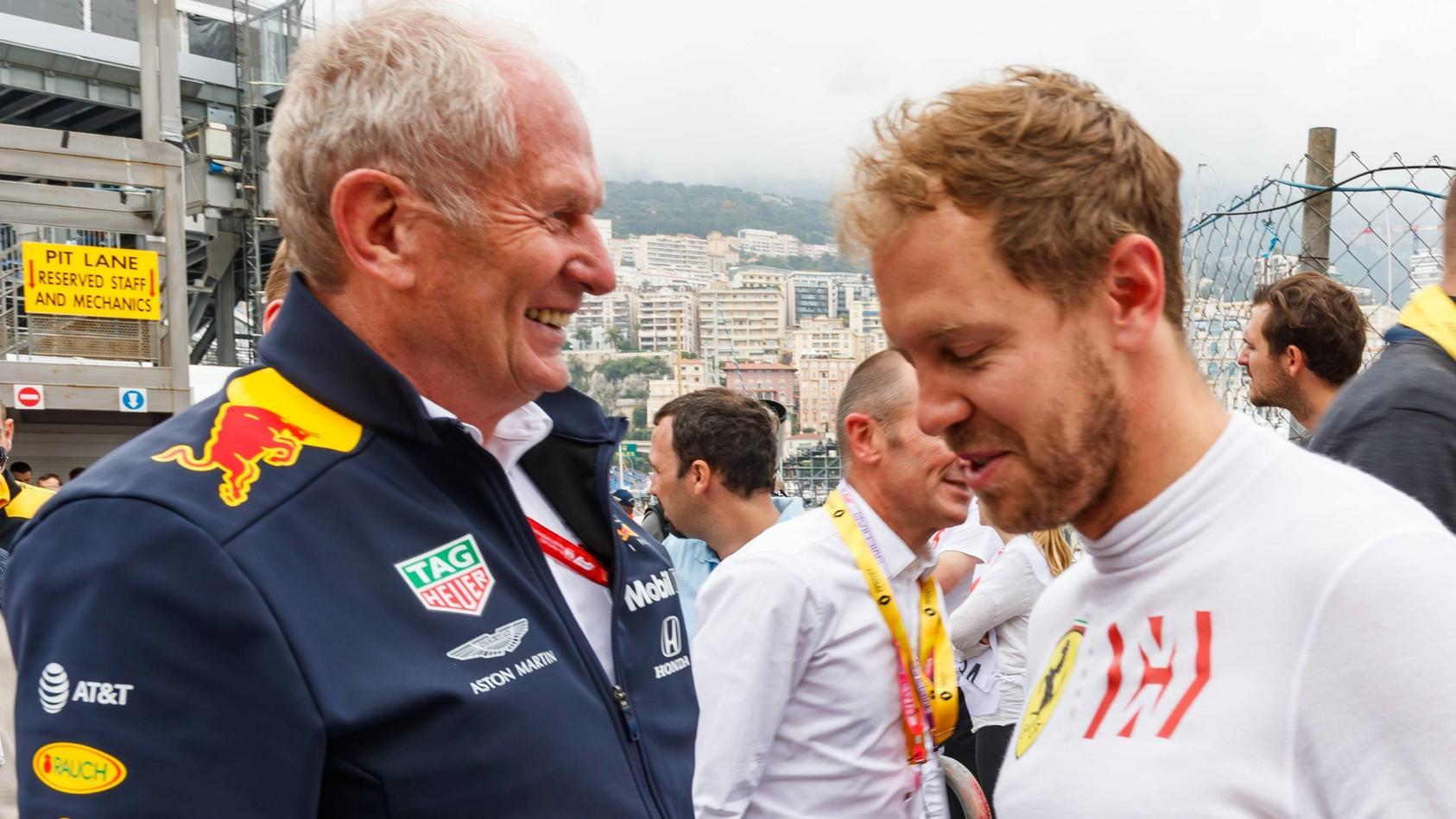 Helmut Marko glaubt nicht, dass Sebastian Vettel 2021 eine Gefahr für Red Bull sein wird