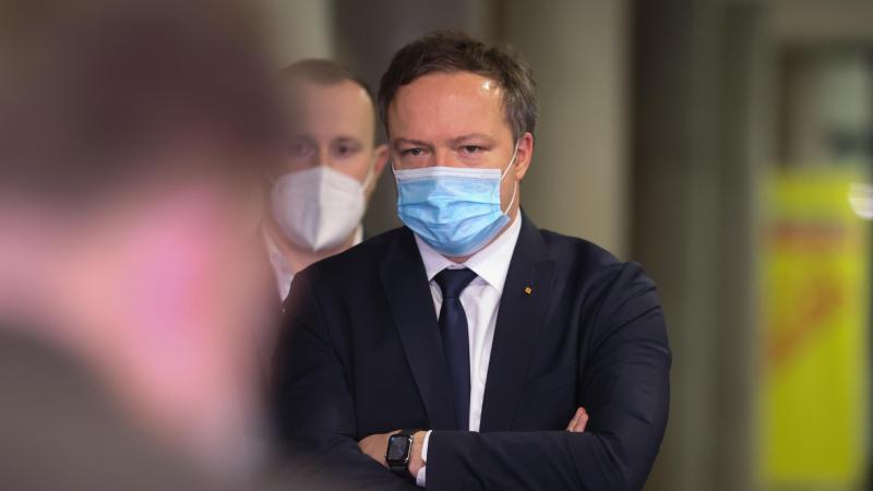 Mario Voigt (M), CDU-Fraktionsvorsitzender in Thüringen. Foto: Bodo Schackow/dpa-Zentralbild/dpa