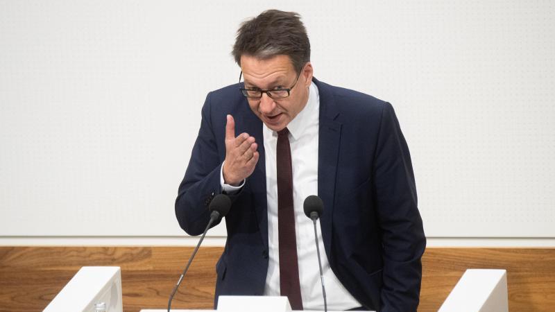 Stefan Birkner (FDP) spricht im niedersächsischen Landtag. Foto: Julian Stratenschulte/dpa/Archiv
