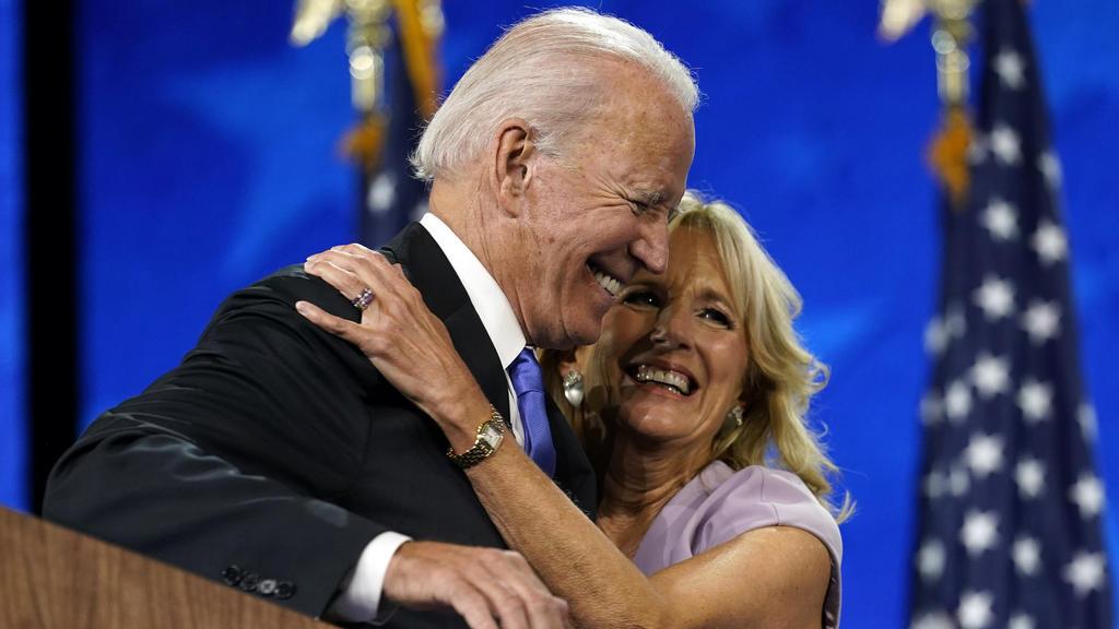 Joe und Jill Biden wollen noch am Tag der Amtseinführung ins Weiße Haus einziehen.