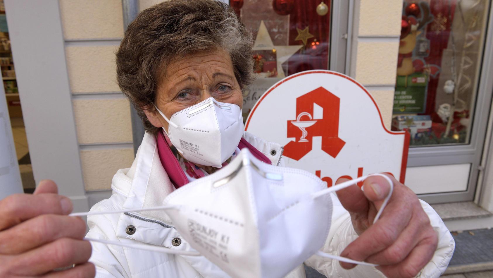 Apotheker sind für den Ansturm auf medizinische Masken gewappnet.