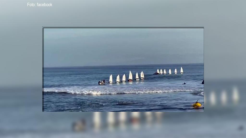 Dieses Foto entstand, bevor die große Welle heranrauschte.