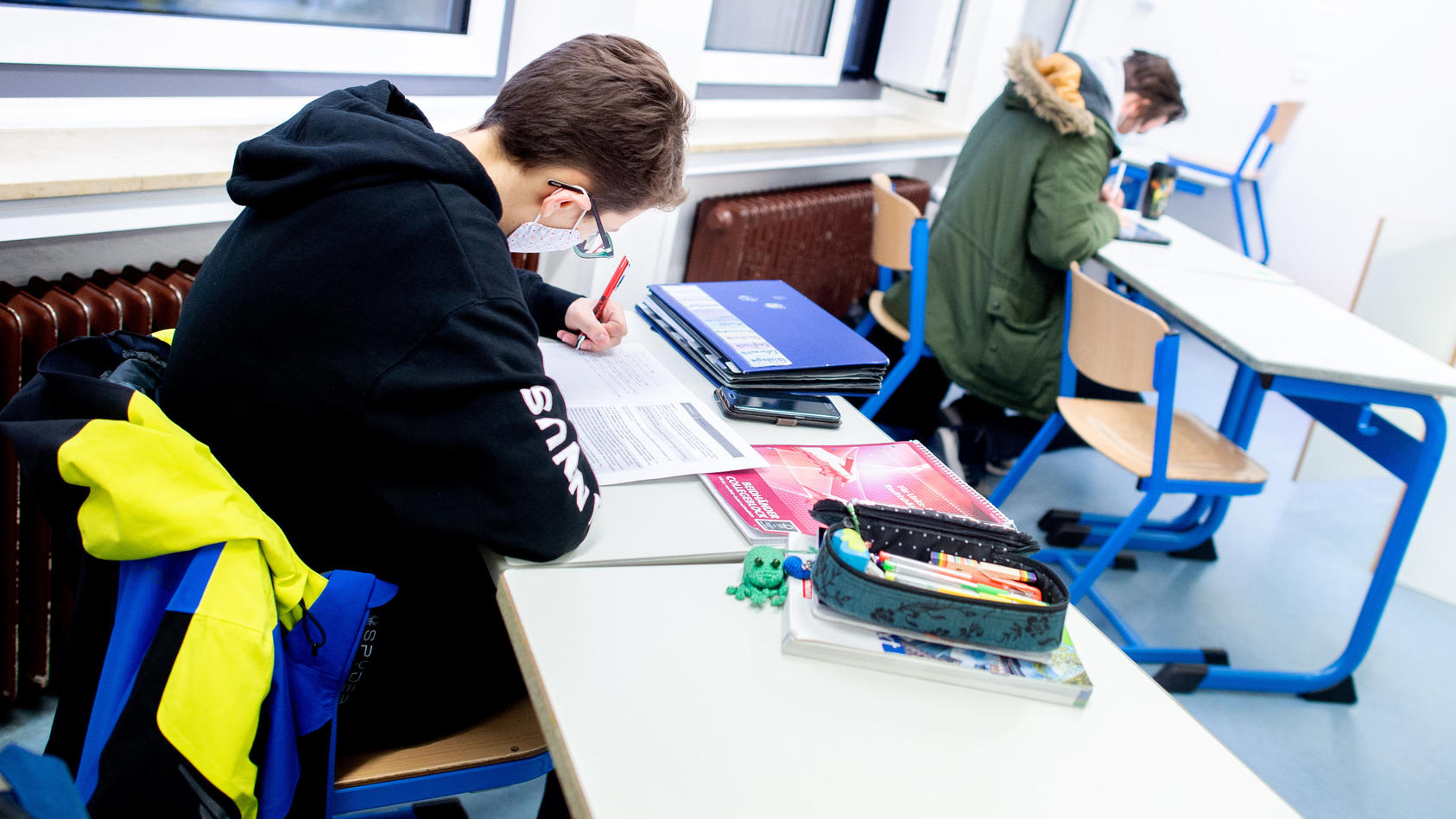 Einige Bundesländer fahren ihren eigenen Schulkurs.