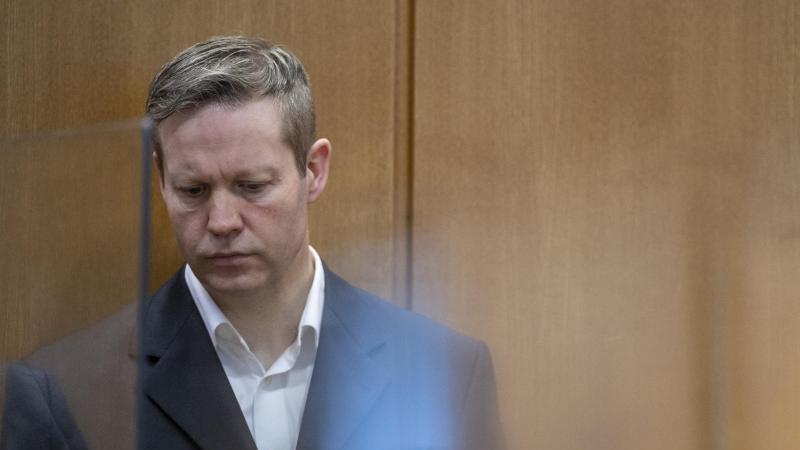 Stephan Ernst, Hauptangeklagter im Lübcke-Prozess. Foto: Boris Roessler/dpa-Pool/dpa/Archiv