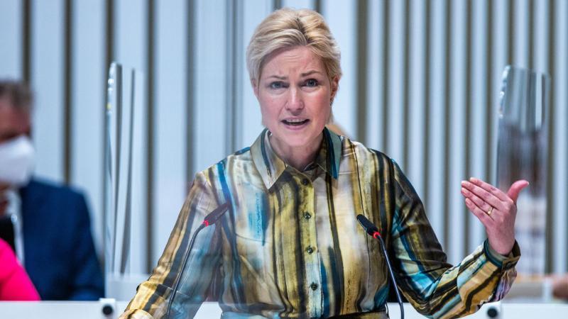 Manuela Schwesig (SPD), Ministerpräsidentin von Mecklenburg-Vorpommern. Foto: Jens Büttner/dpa-Zentralbild/dpa