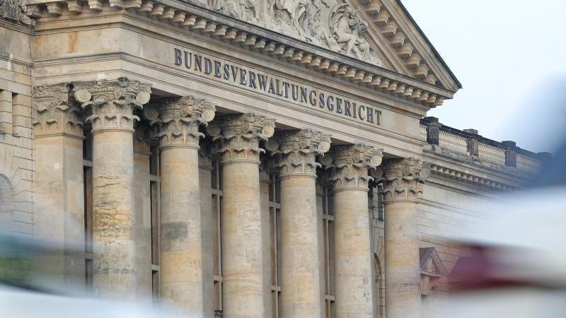 Das Bundesverwaltungsgericht. Foto: Jan Woitas/ZB/dpa/Archiv