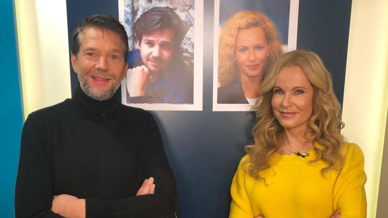 Kai Wiesinger und Katja Burkard sprechen über die Wechseljahre bei Männern und Frauen.