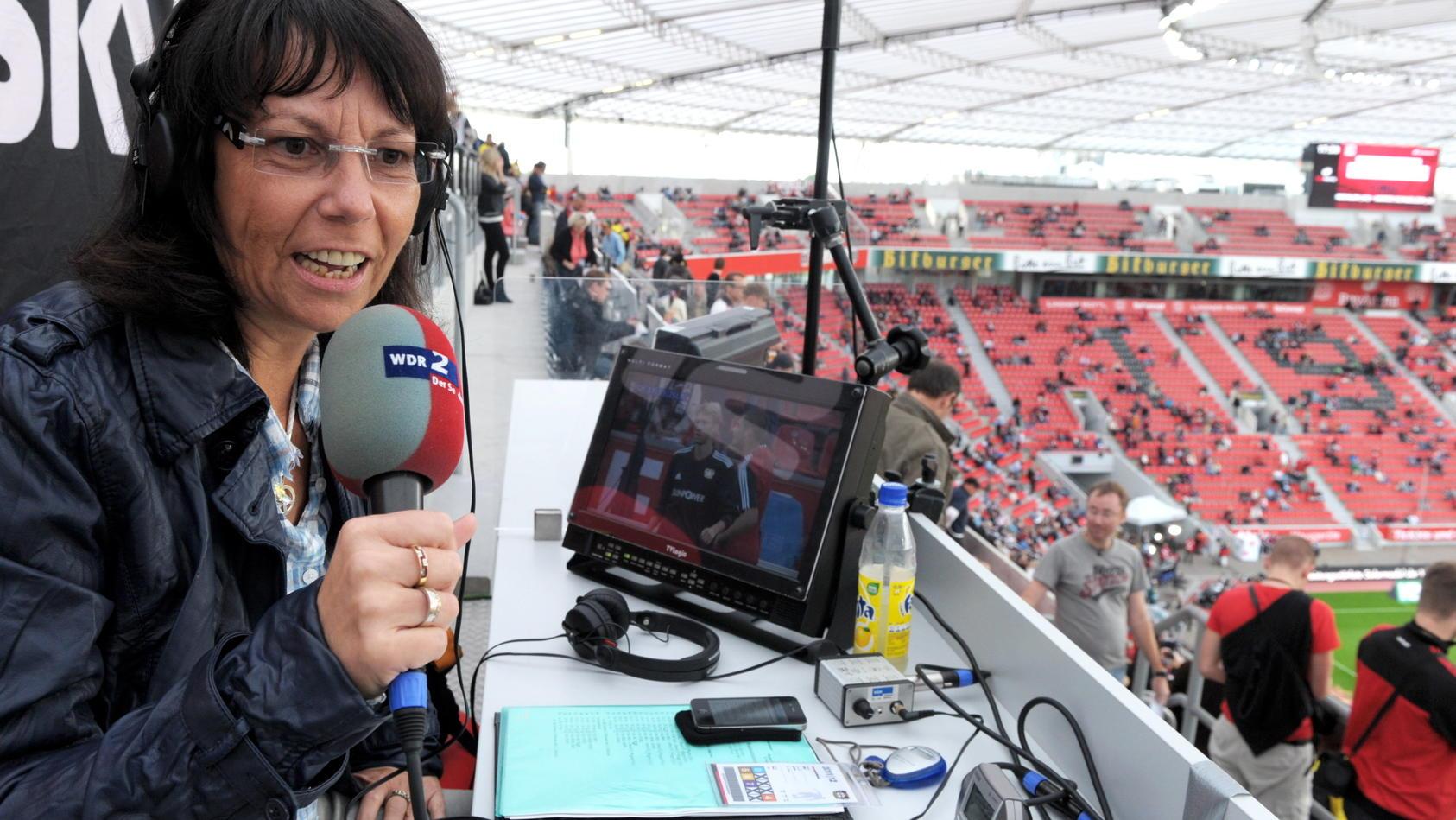Sabine Töpperwien hört als Sport-Journalistin beimWDR auf