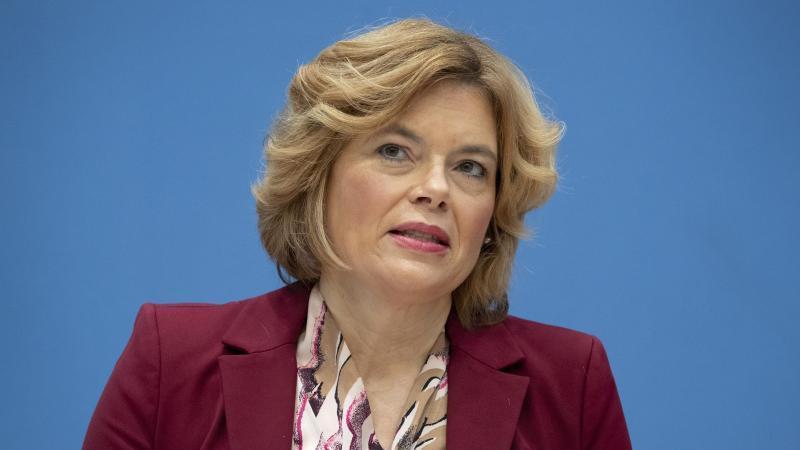 Bundesagrarministerin Julia Klöckner (CDU). Foto: Michael Sohn/POOL AP/dpa