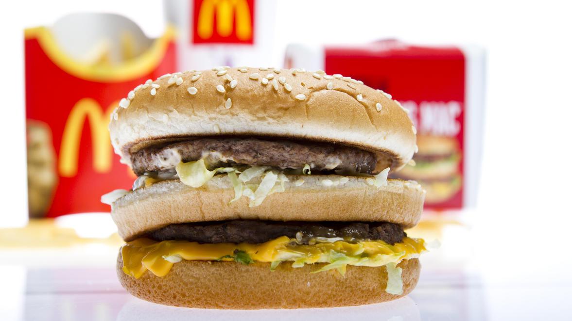 Der Big Mac von McDonald's ist weltweit beliebt.