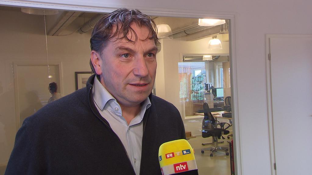 Thomas Wüstefeld, Geschäftsführer der sanaGroup, im RTL-Interview