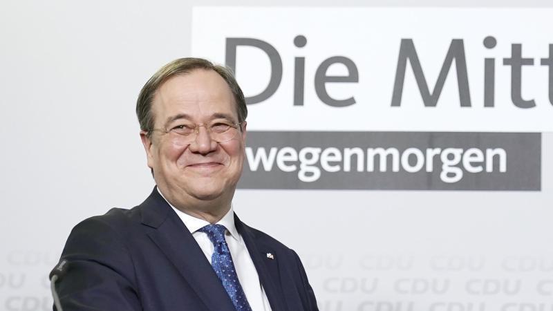 Neuer CDU-Bundesvorsitzender Armin Laschet. Foto: Michael Kappeler/dpa